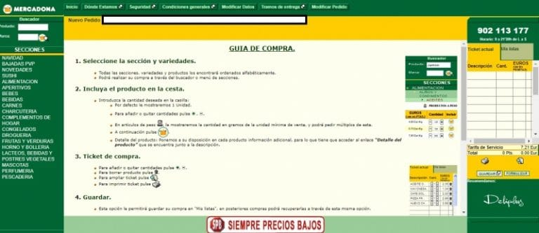 Mercadona possède-t-elle toujours le pire site de commerce électronique du secteur de la vente au détail en Espagne ?