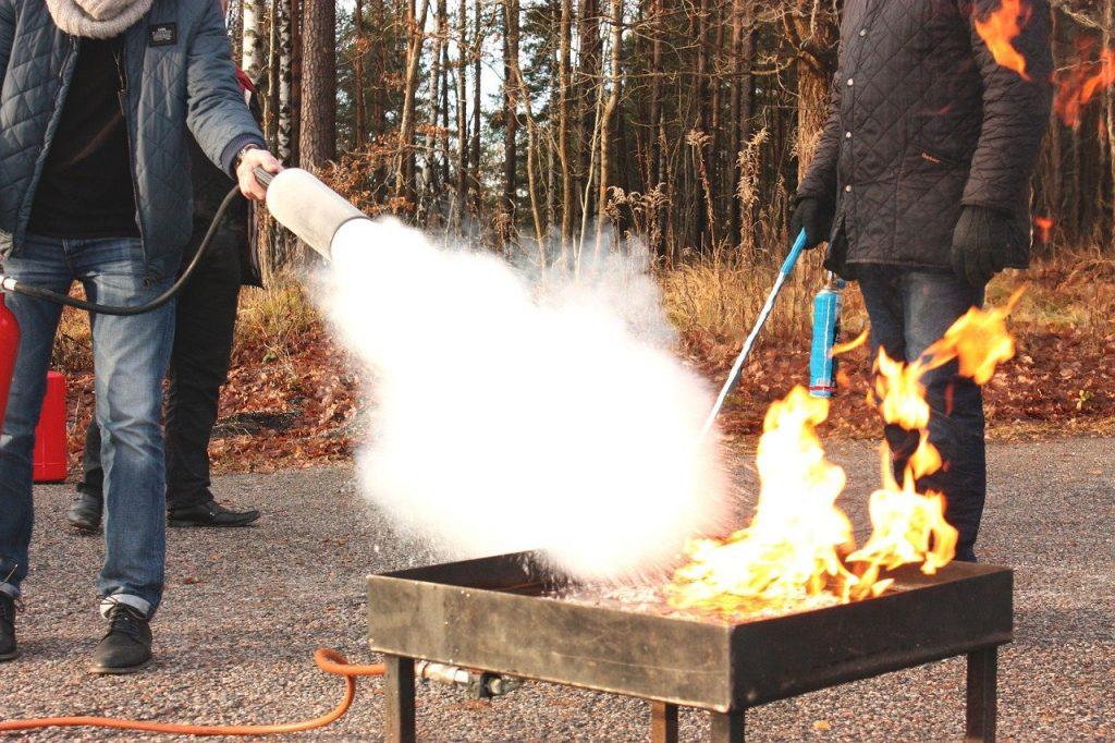 Comment se déroule une formation incendie en entreprise ?