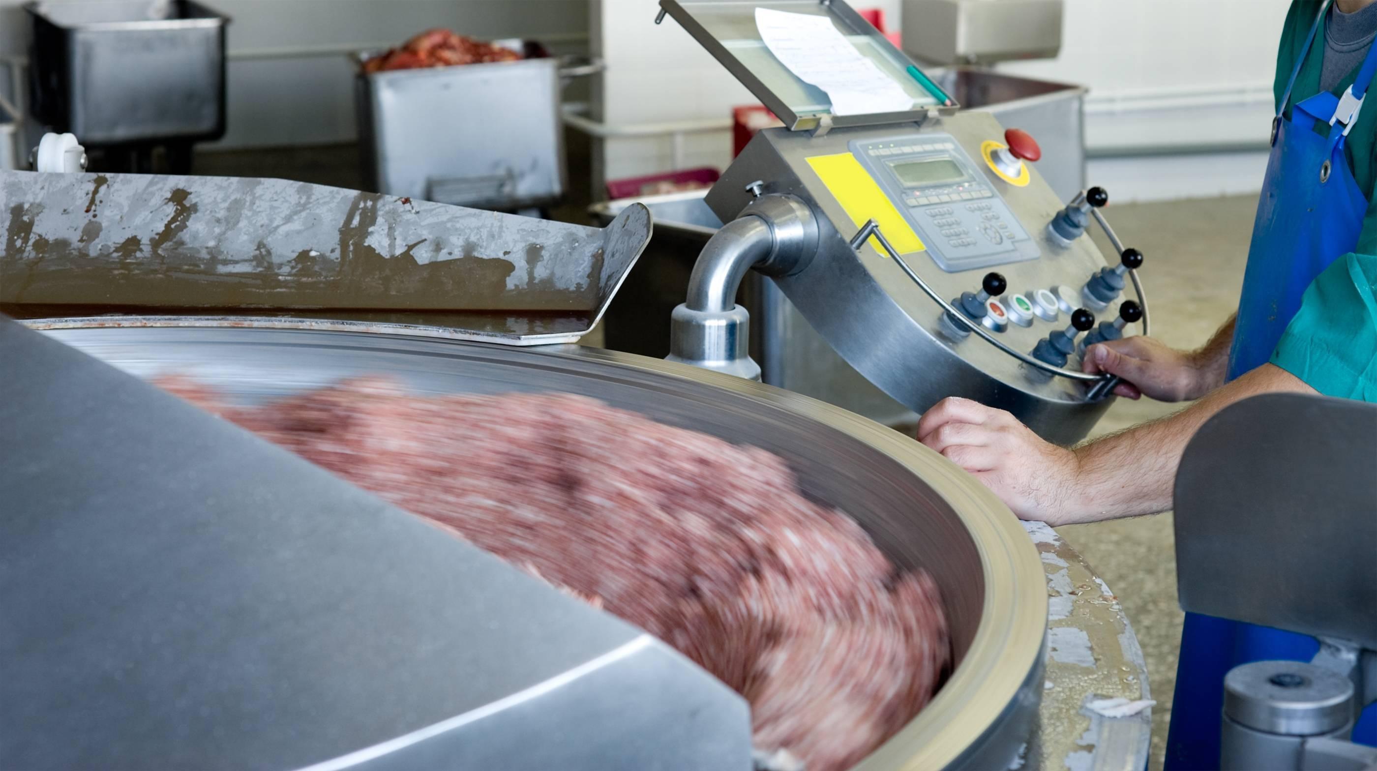 machine viande séparée mécaniquement